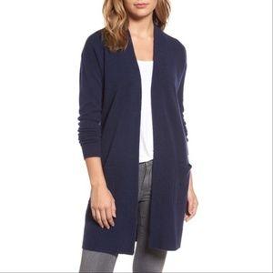 Nordstrom Cashmiere wool Blend long cardigan XL